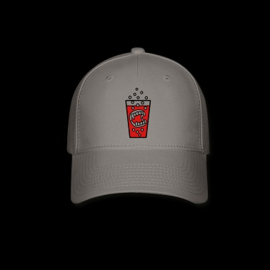 teeth vampire halloween - Baseball Cap