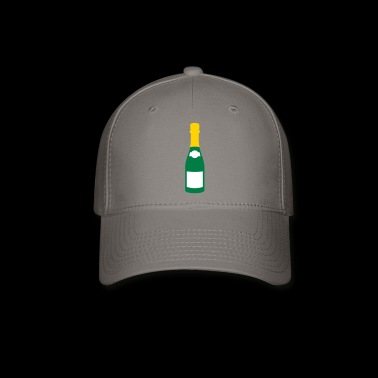 champagne bottle - Baseball Cap