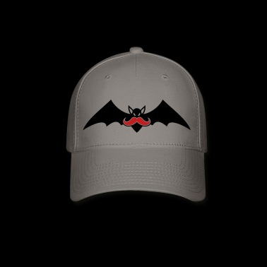 Bat with mustache - Baseball Cap