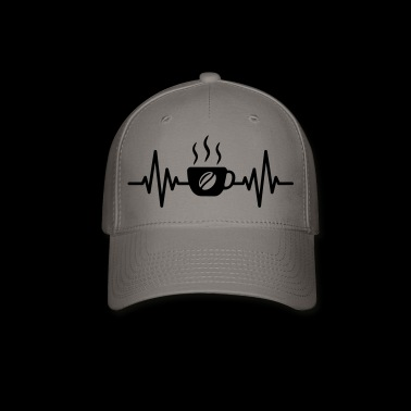 coffee heartbeat - Baseball Cap
