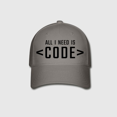 All I need is CODE - Baseball Cap