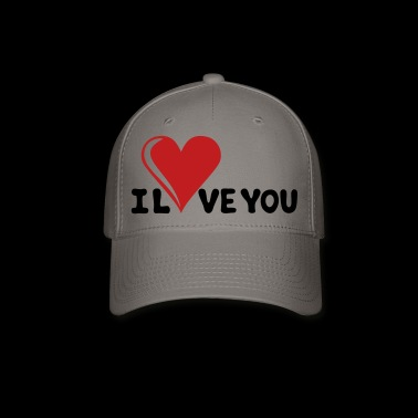 I LOVE YOU - Romance - Valentine's Day - Heart - Baseball Cap