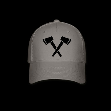 Crossed Ax - hatchet - Baseball Cap
