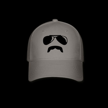 Sunglasses moustache - Baseball Cap