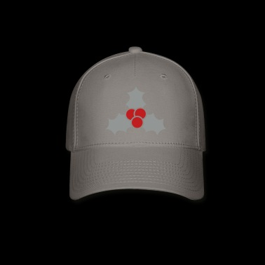 mistletoe - christmas - kiss - Baseball Cap
