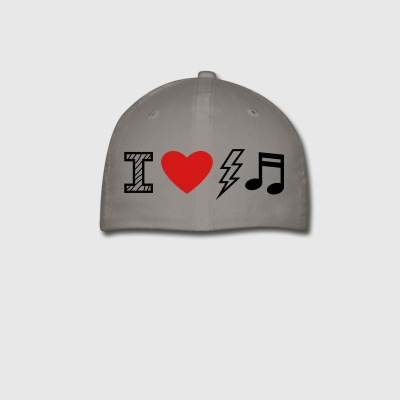 I Love Electro Music - Baseball Cap