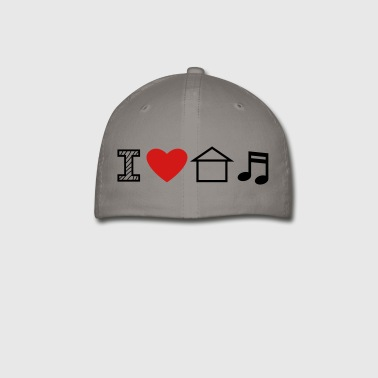 I Love House Music - Baseball Cap
