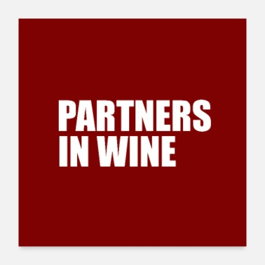 Wine Festival partners in wine - Poster