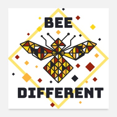 Different bee different - Poster