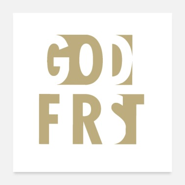 Christian Christian,God first - Poster