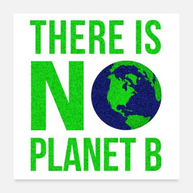 Green Planet There Is No Planet B - Poster