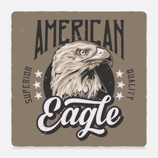 Travel Posters - American eagle 2 - Posters white