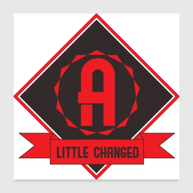 little changed - Poster 24x24