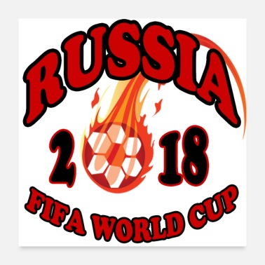 World Champion world cup Russia 2018 - Poster 24x24