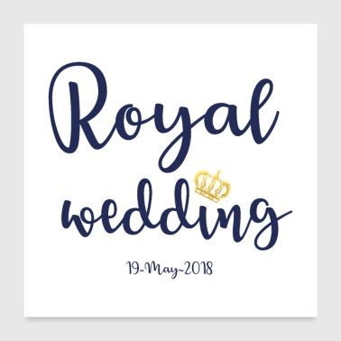 Royal Wedding - Poster 24x24