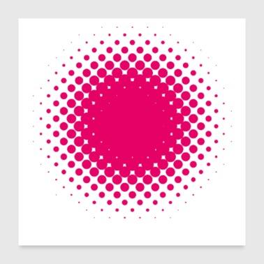 Shop Hot Pink Wall Art online | Spreadshirt