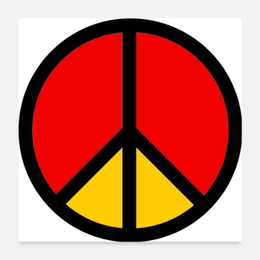 Movement Peace Sign - Poster 24x24