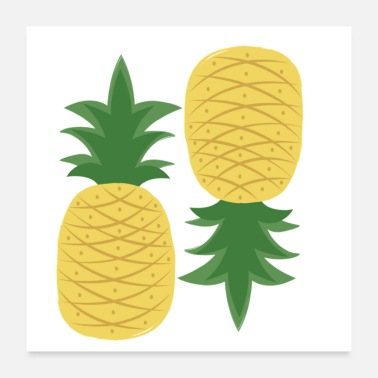 plenty of pineapples - Poster