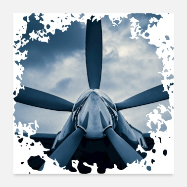 Weather Sky Challenger - Poster 24x24