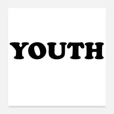 Motto YOUTH - Poster 24x24