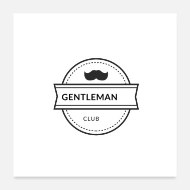 Clubs Gentleman club - Poster