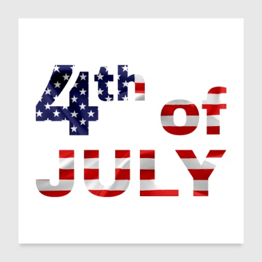 Fourth Of July - Poster 24x24