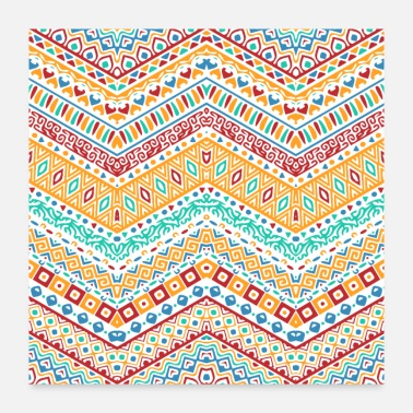 Homedecor pattern abstract - Poster 24x24