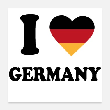 Germany I love Germany - Poster
