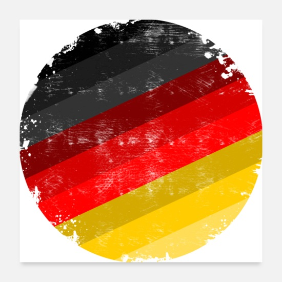 Germany Flag Posters - germany flag - Posters white