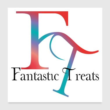 Fantastic Treats Drinks-Snacks-Candies-Fruit - Poster 24x24