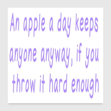 Funny Quote Cute Saying - Poster 24x24
