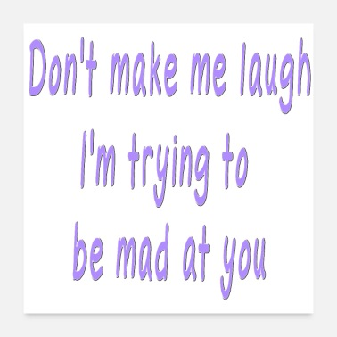 Sayings Funny Quote Cute Saying about Laughing - Poster
