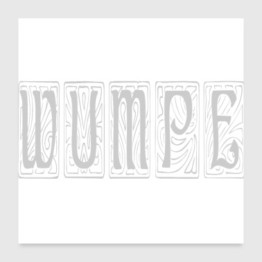 Fantasy words - Wumpe - Poster 24x24