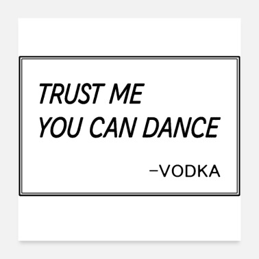 Uncle Funny dance drink saying beer vodka gift mead - Poster