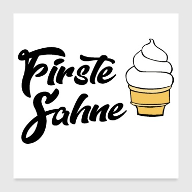 Winner Firste Sahne - Poster 24x24