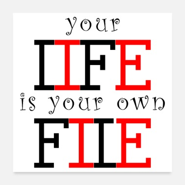 Lifebelt life is your file - Poster