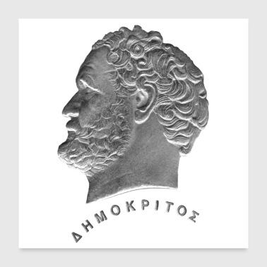 Greece Democritus - Poster 24x24
