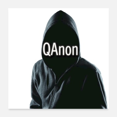 Anonymous QAnon - Poster 24x24