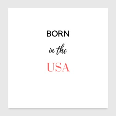Usa in the usa - Poster 24x24