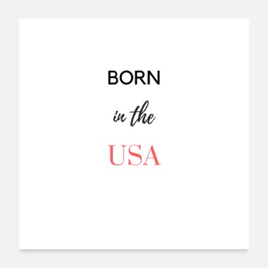 Usa in the usa - Poster