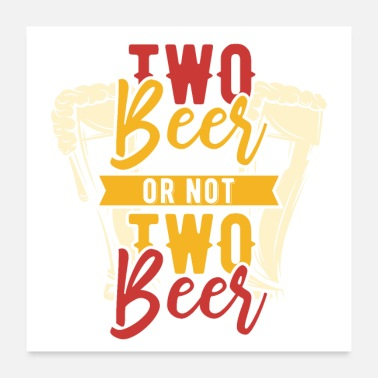 Craft Beer beer and whiskey - Poster