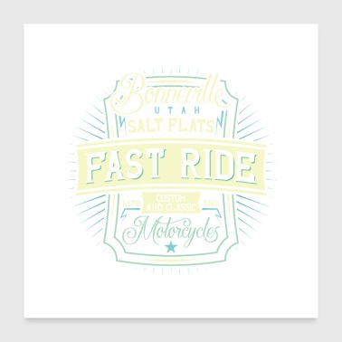 fast ride - Poster 24x24