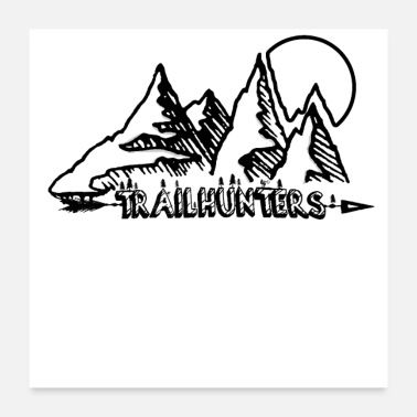 Rave Trailhunters - Poster 24x24