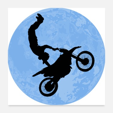Freestyle Motocross - Poster 24x24