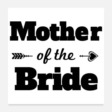 Bachelorett Party Bachelorette party wedding mother of the bride - Poster 24x24