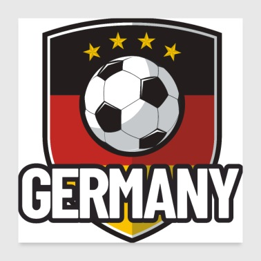 Football Germany - Poster 24x24