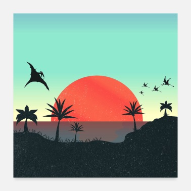 Collections Dreamland Beach: Wonderful Sunset - Poster