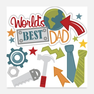 Fathers Day Father day - Poster 24x24
