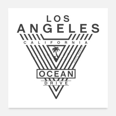 Angel Los Angeles - Poster 24x24