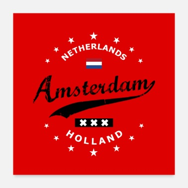 Holland Amsterdam - Poster 24x24